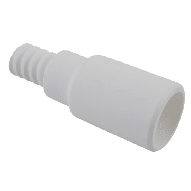 Vikan 29955 Adaptor Ø25 mm 85 mm White