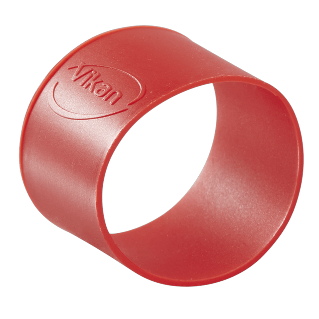 Vikan 98024 Colour Coding Rubber Band x 5 40 mm Red