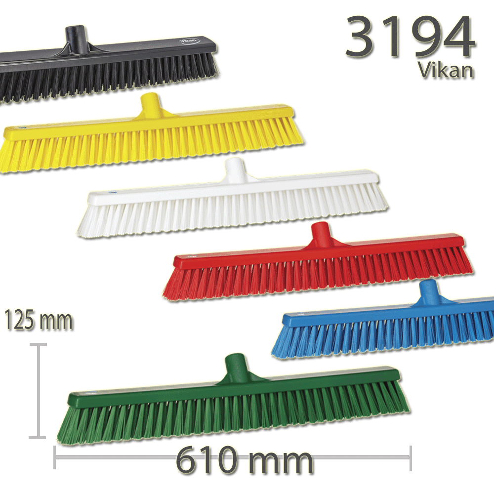 Vikan 3194 Broom 610 mm Soft/hard