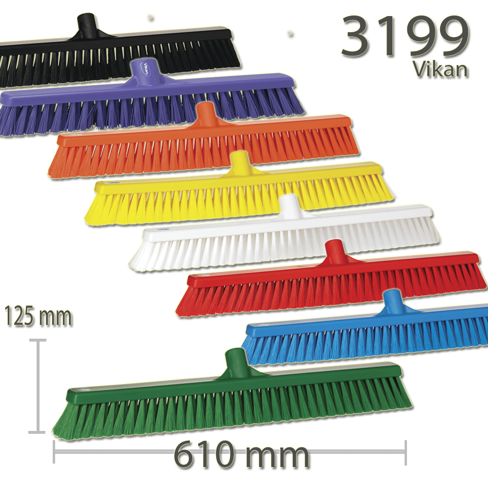 Vikan 3199 Broom 610 mm Soft