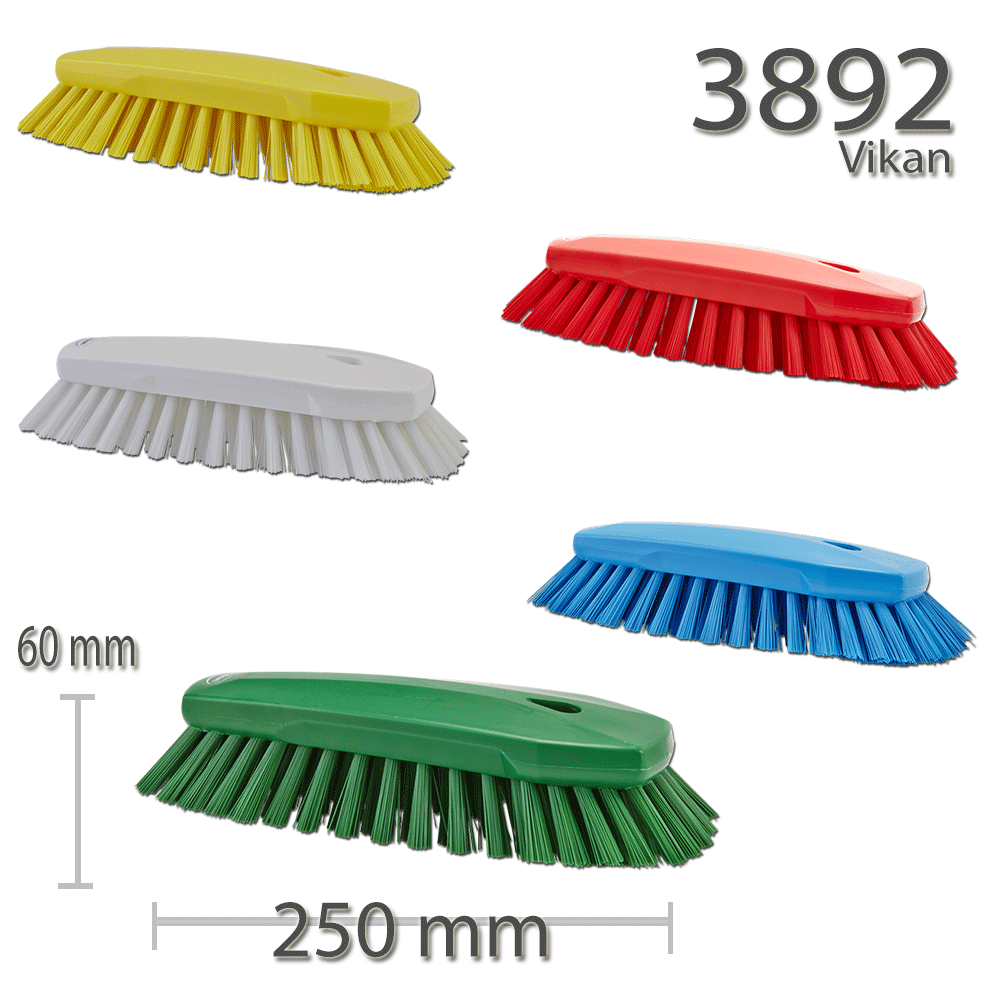 Vikan 3892 Hand Brush XL 240 mm Very hard