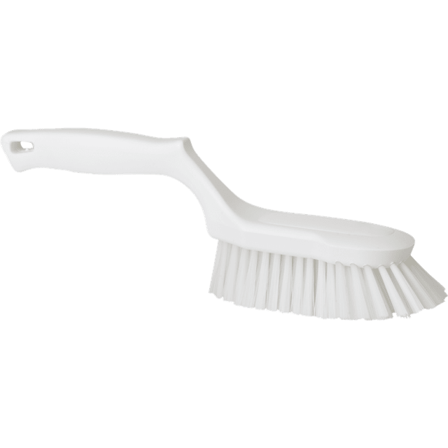 Vikan 41695 Ergonomic Hand Brush 330 mm Hard White