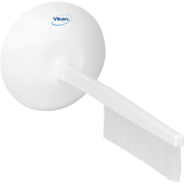 Vikan 41845 Brush with Hand Guard 500 mm Medium White