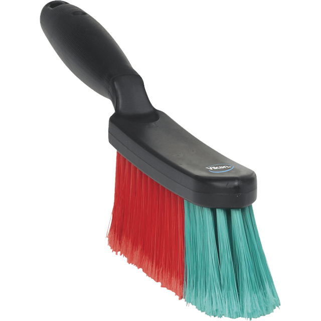 Vikan 450252 Hand Brush w/Short Handle 330 mm Soft Black