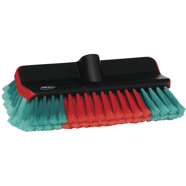 Vikan 524752 Washing Brush waterfed High/Low 280 mm Soft/splitBlack