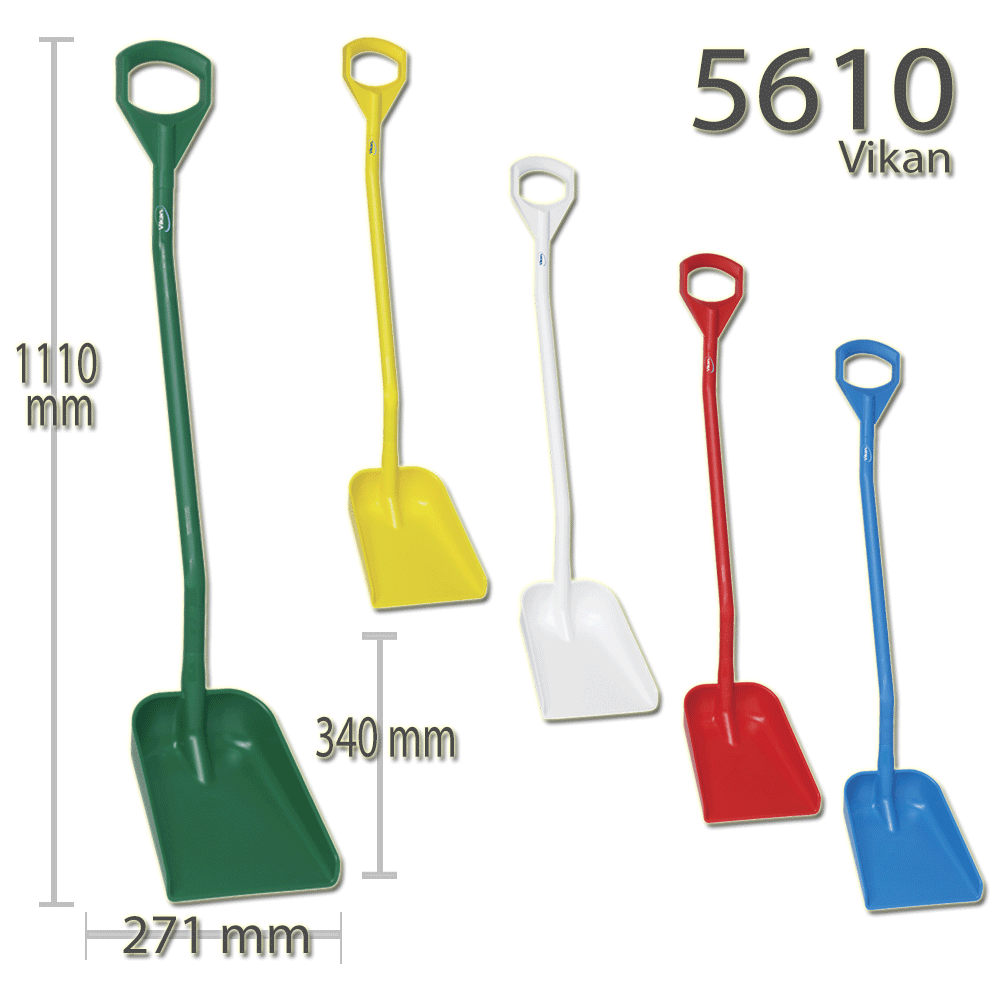 Vikan 5610 Ergonomic shovel 340 x 270 x 75 mm 1110 mm