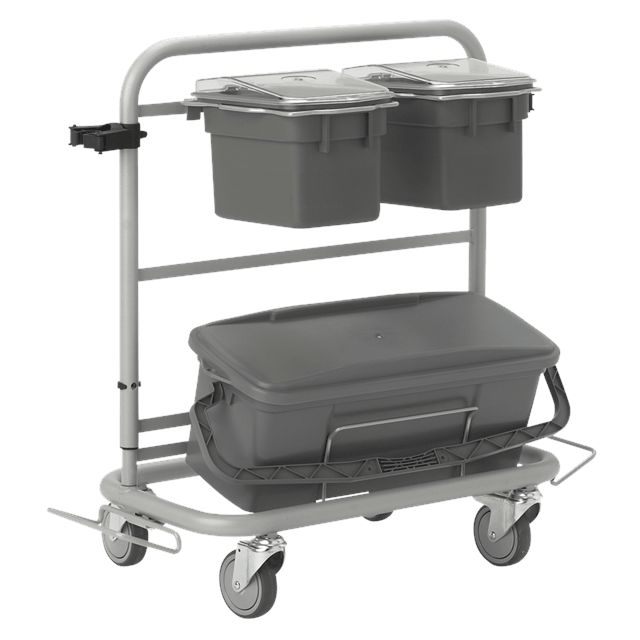 Vikan 580410 Slimliner Cleaning Trolley 40 cm Grey