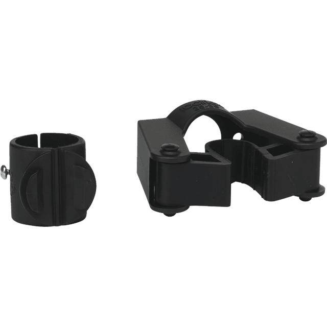Vikan 583013 Holder for 25-35 mm diameter handle with 28mm clamps for 580410  Black