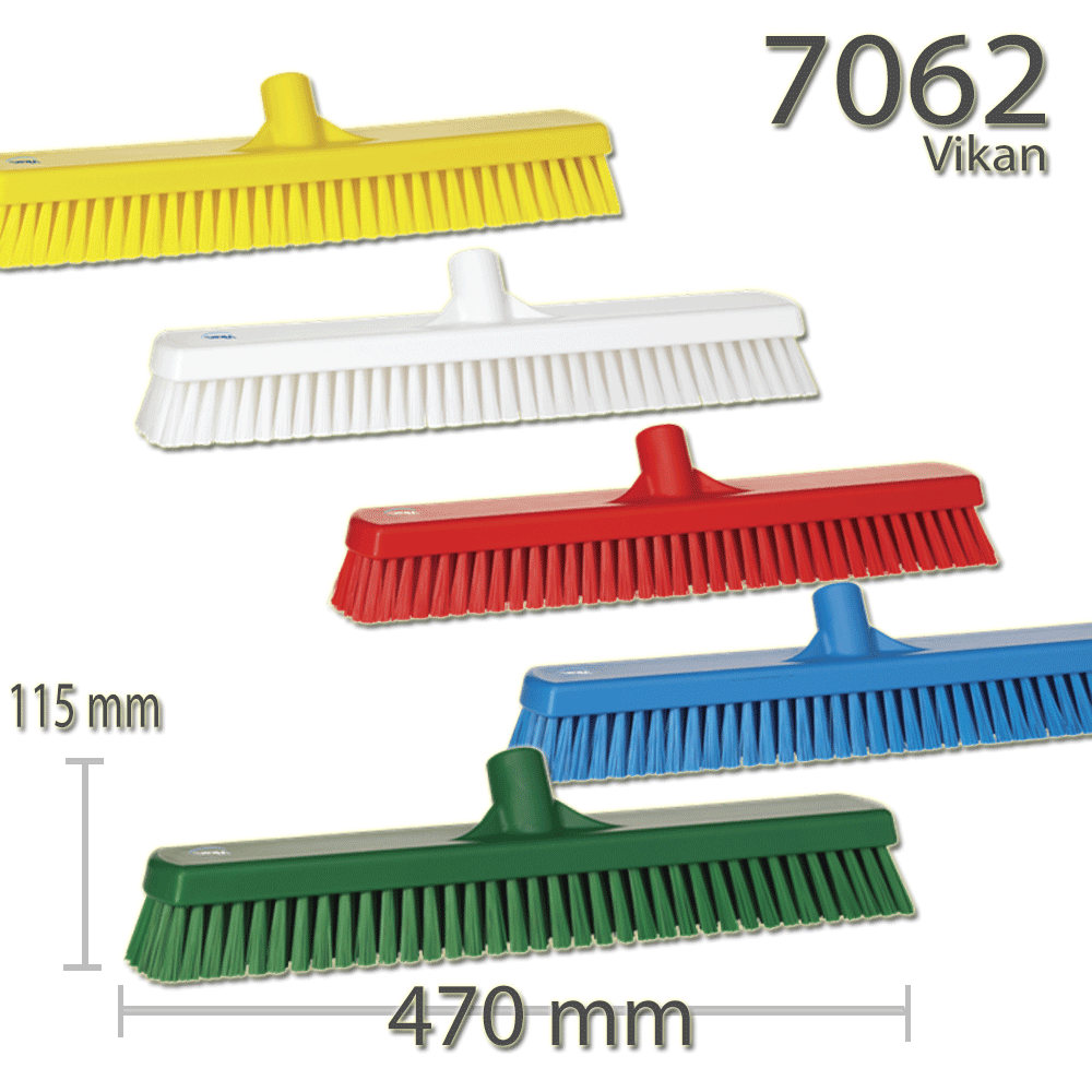 Vikan 7062 Wall-/Floor Washing Brush 470 mm Hard