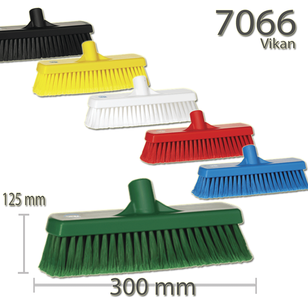 Vikan 7066 Broom 300 mm Soft/split