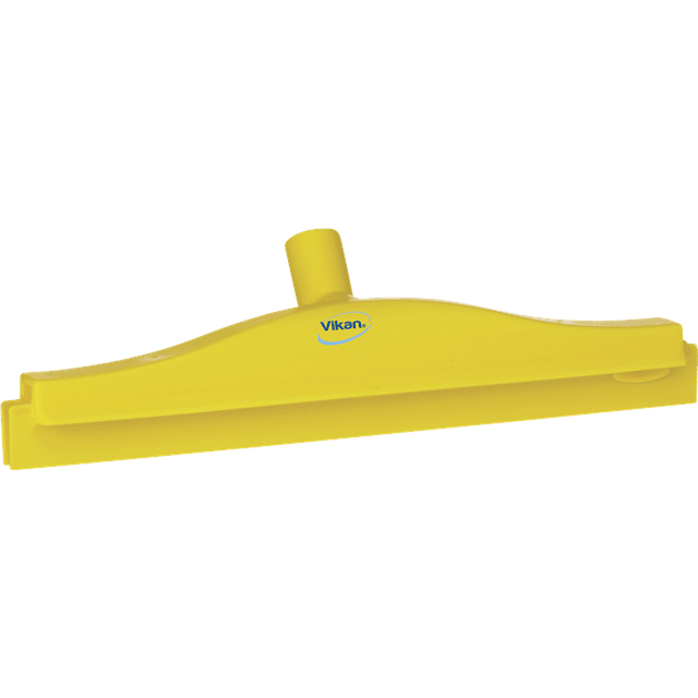 Vikan 77226 Hygienic Revolving Neck Squeegee w/replacement cassette 405 mm Yellow