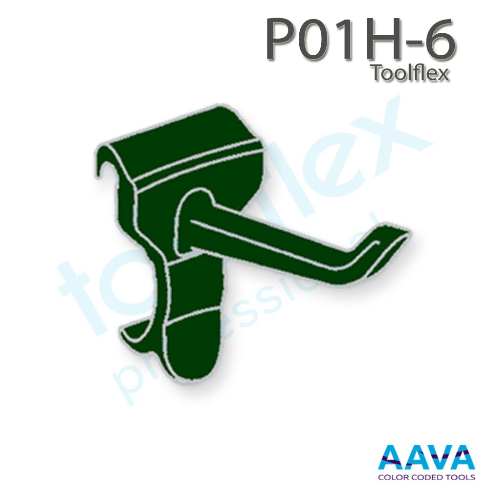 Toolflex One P01H-6 Hook 3-Pack