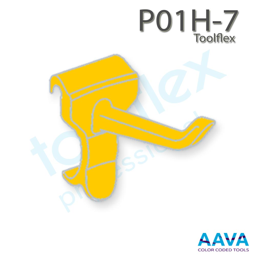 Toolflex One P01H-7 Hook 3-Pack