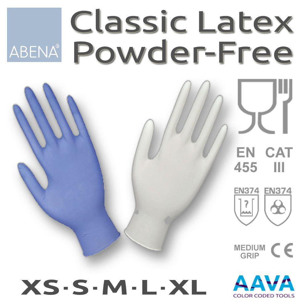 Latex Examination Glove Powder-Free