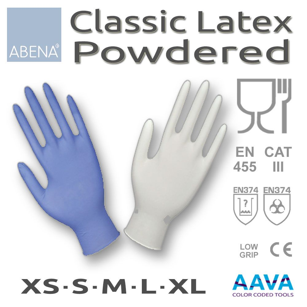 Latex Examination Glove Powdered