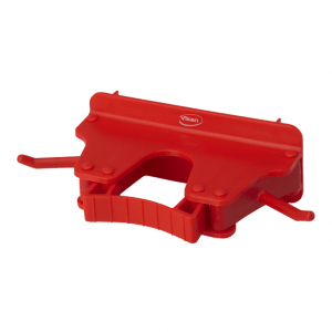 Vikan 10174 Wall Bracket 1-3 Products 160 mm Red