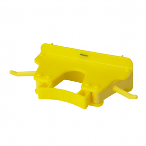 Vikan 10176 Wall Bracket 1-3 Products 160 mm Yellow