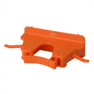 Vikan 10177 Wall Bracket 1-3 Products 160 mm Orange