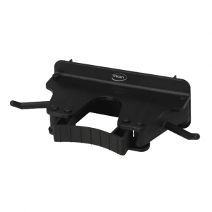Vikan 10179 Wall Bracket 1-3 Products 160 mm Black