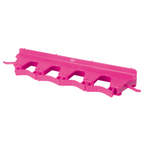 Vikan 10181 Wall Bracket 4-6 Products 395 mm Pink