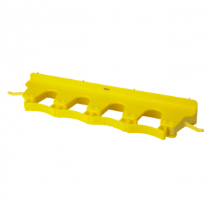 Vikan 10186 Wall Bracket 4-6 Products 395 mm Yellow