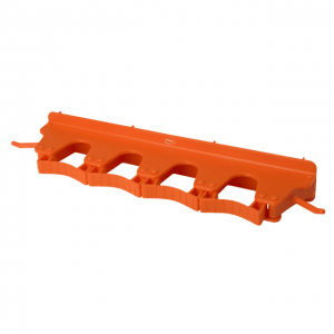 Vikan 10187 Wall Bracket 4-6 Products 395 mm Orange