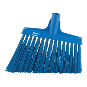 Vikan 29143 Broom Angle Cut 290 mm Very hard Blue