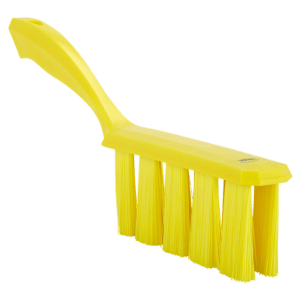 Vikan 45856 UST Bench Brush 330 mm Medium Yellow