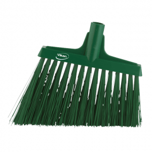 Vikan 29142 Broom Angle Cut 290 mm Very hard Green