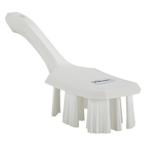 Vikan 41795 UST Hand Brush w/short handle 260 mm Hard White