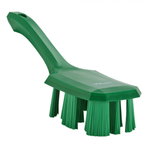 Vikan 41792 UST Hand Brush w/short handle 260 mm Hard Green