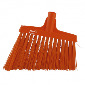 Vikan 29147 Broom Angle Cut 290 mm Very hard Orange