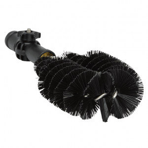 Vikan 53619 Drain Cleaning Brush 275 mm Hard Black