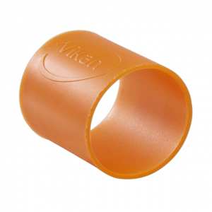 Vikan 98017 Colour Coding Rubber Band x 5 26 mm Orange