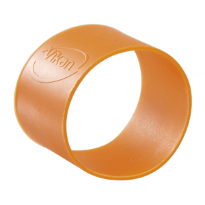 Vikan 98027 Colour Coding Rubber Band x 5 40 mm Orange