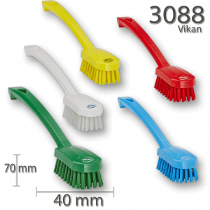 Vikan 3088 Utility Brush 260 mm Medium