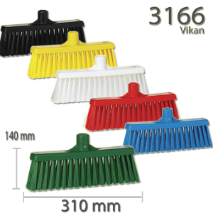 Vikan 3166 Broom w/ Straight Neck 310 mm Medium