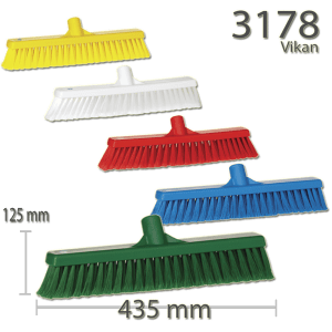 Vikan 3178 Broom 410 mm Soft/split