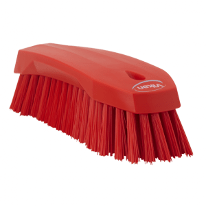 Vikan 38904 Hand Brush L 200 mm Hard Red