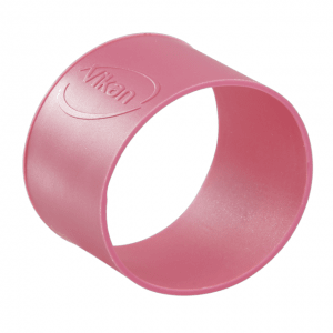 Vikan 98021 Colour Coding Rubber Band x 5 40 mm Pink