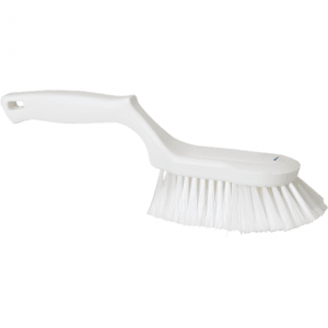 Vikan 41675 Ergonomic Hand Brush 330 mm Soft/split White
