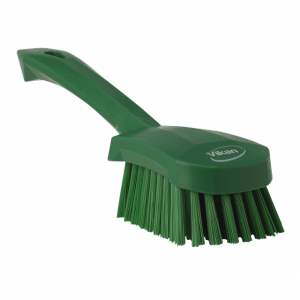 Vikan 41902 Washing Brush with short Handle 270 mm Medium Green