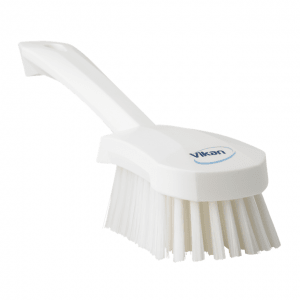 Vikan 41905 Washing Brush with short Handle 270 mm Medium White