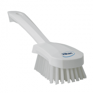 Vikan 41925 Washing Brush with short Handle 270 mm Hard White