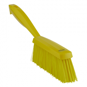 Vikan 45896 Hand Brush 330 mm Medium Yellow