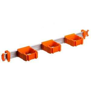 Toolflex One 54 cm Rail with 3 x P-01 Holder - ORANGE
