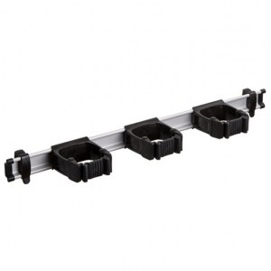 Toolflex One 54 cm Rail with 3 x P-01 Holder - BLACK
