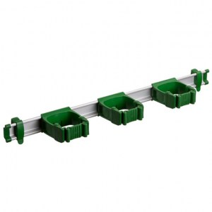 Toolflex One 54 cm Rail with 3 x P-01 Holder - GREEN