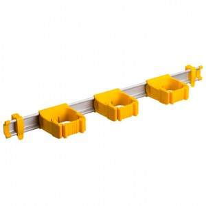 Toolflex One 54 cm Rail with 3 x P-01 Holder - YELLOW