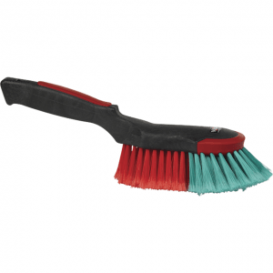 Vikan 524652 Hand Brush 320 mm Soft/split Black